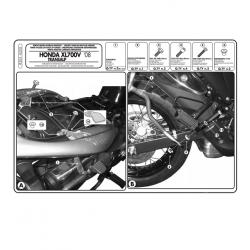 Kappa stelaż kufrów bocznych monokey HONDA XL 700V TRANSALP 08-13