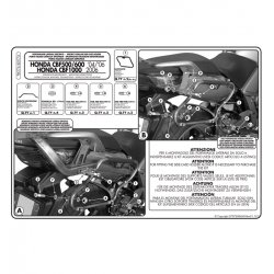 Kappa stelaż kufrów bocznych monokey SIDE HONDA CBF 500 600 1000