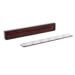 Światło odblaskowe prostokątne JMP czerwone samoprzylepne