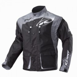 KENNY TRACK kurtka enduro BLACK/GREY