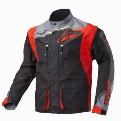 KENNY TRACK kurtka enduro BLACK/RED