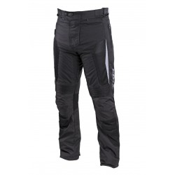 Spodnie motocyklowe tekstylne męskie SECA HYBRID II LONG BLACK