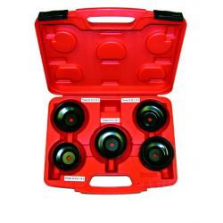 Klucze do filtrów oleju JMP (6szt. 3/8 cala) 6 kluczy, walizka plastikowa