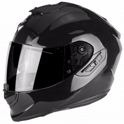 SCORPION EXO-1400 AIR SOLID GLOSS BLACK kask integralny z blendą