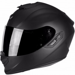 SCORPION EXO-1400 AIR SOLID MATT BLACK kask integralny z blendą