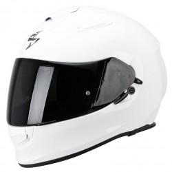 SCORPION EXO-510 AIR GLOSS WHITE sportowy kask integralny z blendą