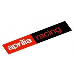 Oryginalna naklejka Aprilia Racing o wymiarach 87x20mm