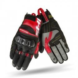 SHIMA X-BREEZE 2 letnie męskie rękawice motocyklowe czerwone