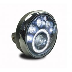 Uniwersalny reflektor lampa przód LED Cafe Racer Custom Bobber