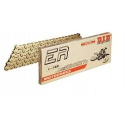Łańcuch napędowy DID520 ERT3 CROSS MX 116 ogniw bez o-ringów złoty