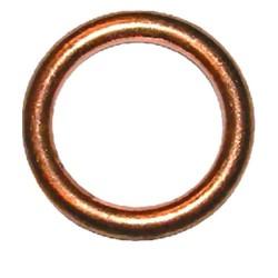 Podkładka miedziana pełna okrągła 10mm 10X14X1.5