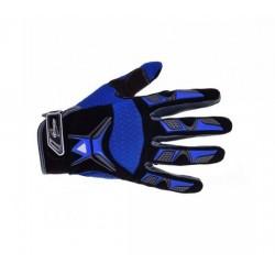 Rękawice IM cross enduro ATV niebieskie