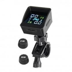 Bezprzewodowy system monitorowania ciśnienia i temperatury w oponach motocyklowych