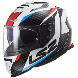 Kask integralny sportowy LS2 FF800 STORM RACER RED BLUE