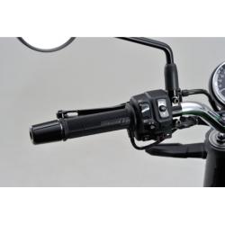 Manetki ogrzewane Daytona 22 mm (7/8 cala) otwarte zintegrowanym przełącznikiem