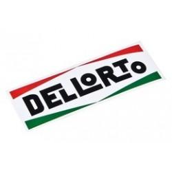 Naklejka logo DELLORTO 60X20mm