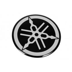 Emblemat, naklejka okragła YAMAHA 45mm, 1szt.