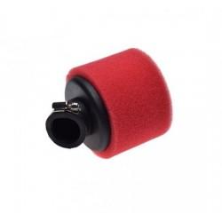 Filtr powietrza gąbkowy pitbike czerwony 35mm 45'