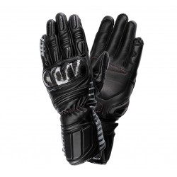 SECA MERCURY IV BLACK męskie turystyczne rękawice motocyklowe