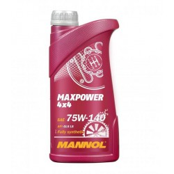 Olej przekładniowy syntetyczny MANNOL MAXPOWER 4x4 75W-140 1l