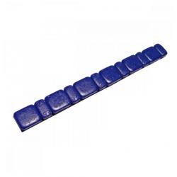 Odważniki ciężarki motocyklowe samoprzylepne stalowe 6x2,5g i 6x5,0g niebieskie