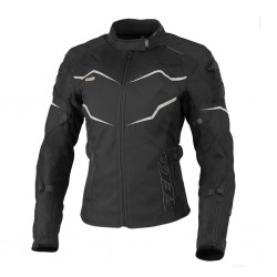 SECA STREAM III BLACK damska tekstylna kurtka motocyklowa