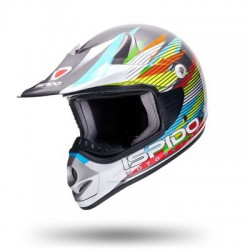 ISPIDO kask crosowy dla JUNIORA CROSS ENDURO