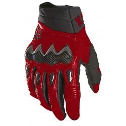 FOX BOMBER rękawice cross enduro ATV czerwone