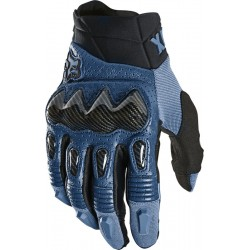 FOX BOMBER rękawice cross enduro ATV niebieski