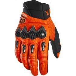FOX BOMBER rękawice cross enduro ATV pomarańczowy
