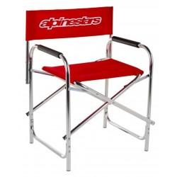 Alpinestars Chair Red składane krzesło do padoku, na tor, na wyścigi
