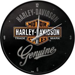 Zegar ścienny na prezent dla motocyklisty HARLEY-DAVIDSON GENUINE 51082