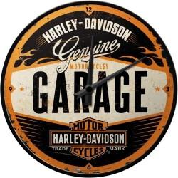 Zegar ścienny na prezent dla motocyklisty HARLEY-DAVIDSON GARAGE 51083