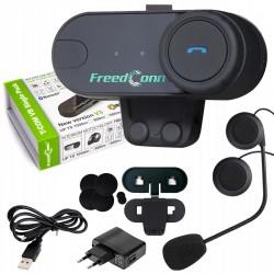 Interkom Bluetooth FreedConn T-Com VB V3 do kasku otwartego lub szczękowego