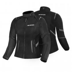 SHIMA RUSH LADY BLACK damska tekstylna kurtka motocyklowa