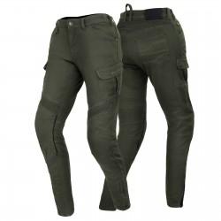 SHIMA GIRO LADY KHAKI spodnie motocyklowe jeansy bojówki damskie