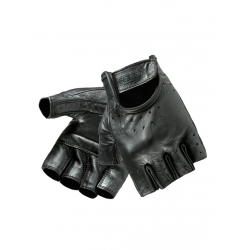 OZONE RASCAL męskie rękawice motocyklowe skórzane bez palców na choppera