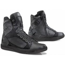 Krótkie skórzane męskie buty szosowe FORMA HYPER BLACK