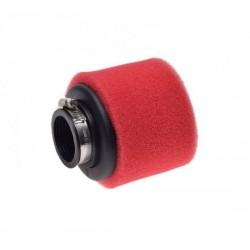 Filtr powietrza gąbkowy pitbike czerwony 38 mm