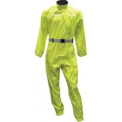 Kombinezon przeciwdeszczowy jednoczęściowy żółty fluo OXFORD RAIN SEAL