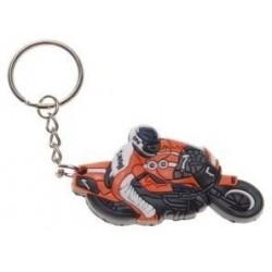 BRELOK, BRELOCZEK DO KLUCZY GUMOWY MOTOR MOTOCYKL