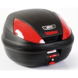 Kufer centralny czarny mat GIVI E370 MONOLOCK