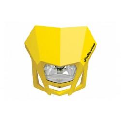 Uniwersalny reflektor przedni lampa owiewka Polisport LMX ŻÓŁTY