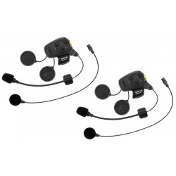 SENA Interkom motocyklowy Bluetooth z radiem FM z mikrofonem na pałąku SMH5D-FM-01 2 zestawy KASKI