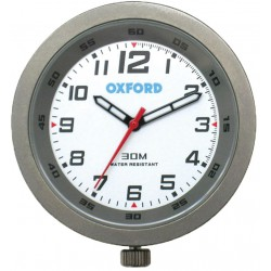 Analogowy zegarek motocyklowy na kierownice Oxford TYTANOWY